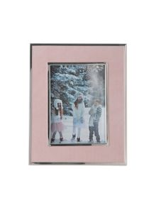 Grace photo frame, rose pink