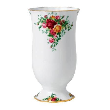 Royal Albert Old country roses large vase 22cm/8.7in (gw)