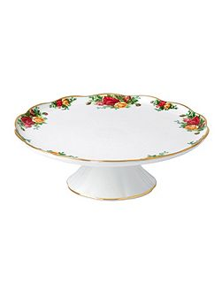 Old country roses l/s cake stand