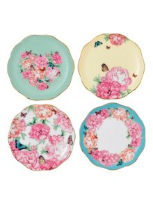 Royal Albert Miranda kerr coasters 10cm, set of 4