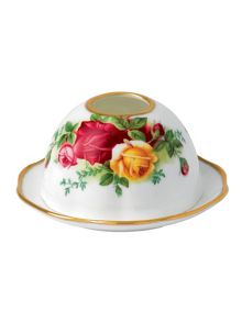 Old country roses tea light votive