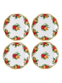 Royal Albert Old country roses set of 4