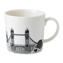 Royal Doulton Charlene Mullen London Tower Mug