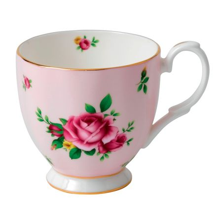 Royal Albert New country roses pink ftd vintage mug