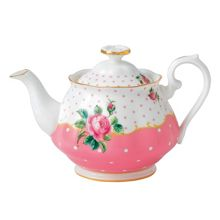 Royal Albert Cheeky pink teapot 0.45ltr/0.95pt c.pink