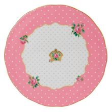 Royal Albert Cheeky pink cake plate 29cm / 11.4in c.pink