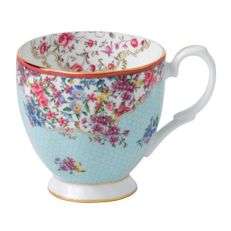 Royal Albert Sitting pretty s/s vintage mug 0.3ltr / 10.5floz