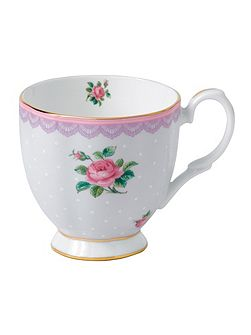 Royal Albert Love lilac s/s vintage mug 0.3ltr