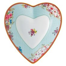 Royal Albert Sitting pretty heart tray 13cm/5.1in