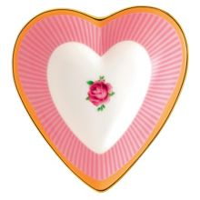 Royal Albert Sweet stripe sweet stripe heart tray 13cm/5.1in