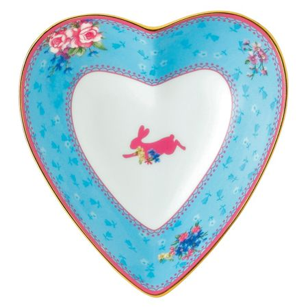 Royal Albert Honey bunny heart tray 13cm/5.1in