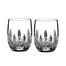 Waterford Lismore classic rounded tumbler set of 2