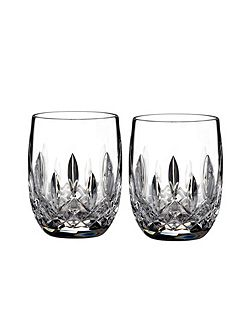 Lismore classic rounded tumbler set of 2