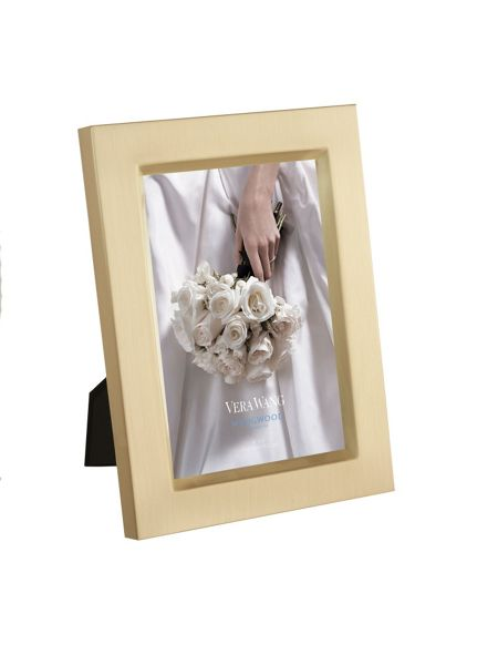 Wedgwood Vera wang photo frame, gold