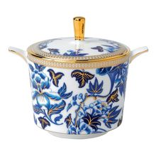 Wedgwood Hibiscus Sugar Pot