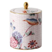 Wedgwood Cuckoo tea caddy pink