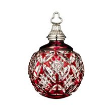 Red Cased Ball Ornament