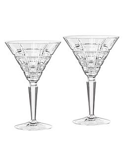 Crosby martini pair