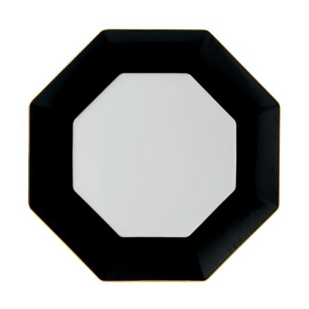 Wedgwood Arris octagonal charger charcoal 33cm