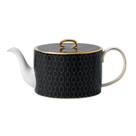 Wedgwood Arris accent teapot gift boxed