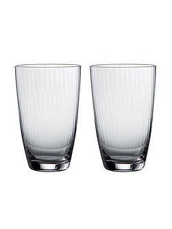 Jasper Conran Tisbury Tall Tumbler (Set of 2)