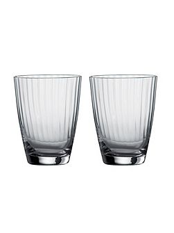 Jasper Conran Tisbury Low Tumbler (Set Of 2)