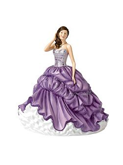 Crystal Ball Society Ball 22cm/8.6in Fig