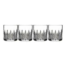 Waterford Lismore diamond straight 5oz tumbler set of 4