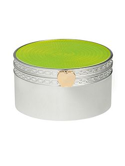 Wedgwood Treasures with love lime green apple treasure