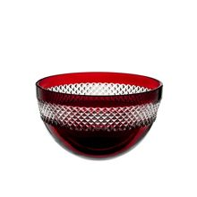 Waterford Red bowl 20.5cm
