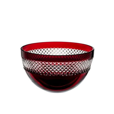 Waterford Red bowl 8