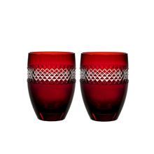 Waterford Red tumbler, set of 2