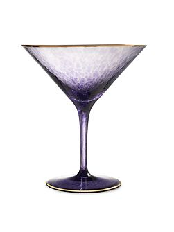 Rebel Purple Martini Gold Banded Single