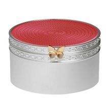 Wedgwood Treasures with love pink butterfly treasure box