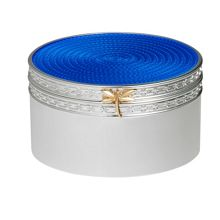 Wedgwood Treasures with love blue dragonfly treasure box
