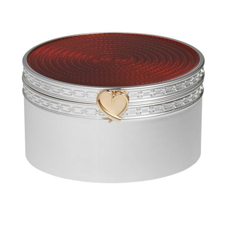 Wedgwood Treasures with love red heart treasure box