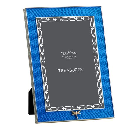 Wedgwood Treasures with love blue dragonfly frame 4x6