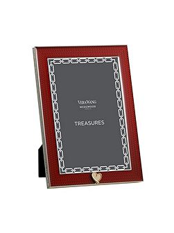 Treasures with love red heart gift frame 4