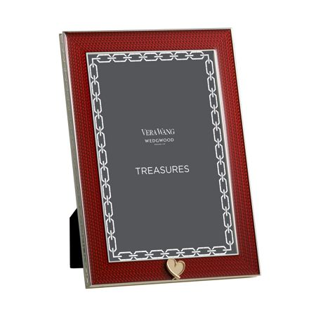 Wedgwood Treasures with love red heart gift frame 4 x 6
