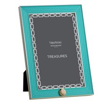 Wedgwood Treasures with love aqua sea frame 4x6