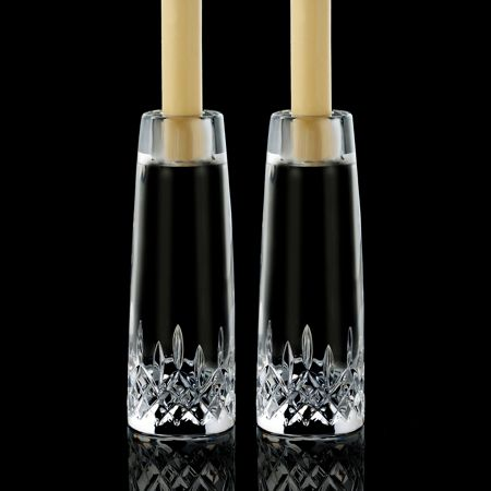 Waterford Lismore Encore 18cm Candlestick Pair