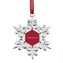 Waterford Snowflake Picture Frame Silver Ornament