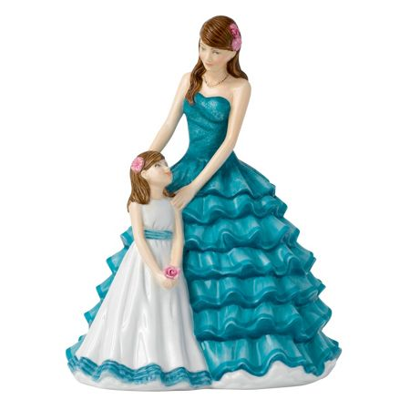 Royal Doulton 2016 mother`s figure of the year, cherished momen