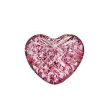 Waterford Giftology pink heart paperweight