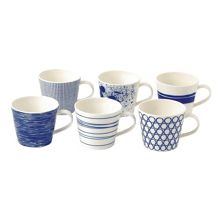 Pacific set of 6 mugs