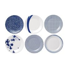 Pacific set of 6 23cm plates