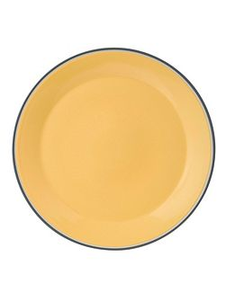 Colour yellow platter 33cm/12.9in
