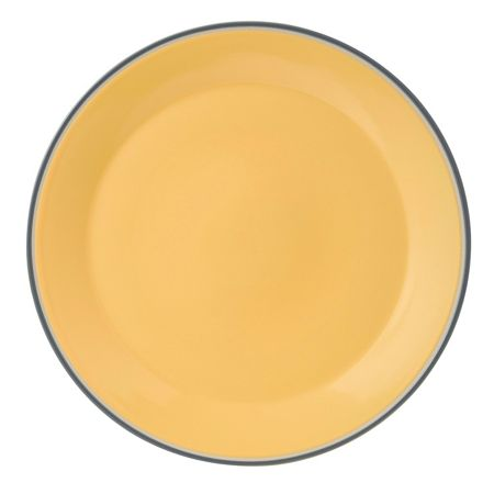 Royal Doulton Colour yellow platter 33cm/12.9in