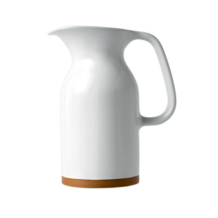 Royal Doulton Barber and Osgerby Olio White Jug 17.5cm