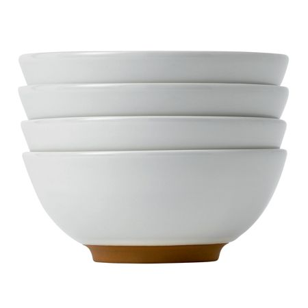 Royal Doulton Barber and Osgerby Olio White Dip Dish 8cm, S/4